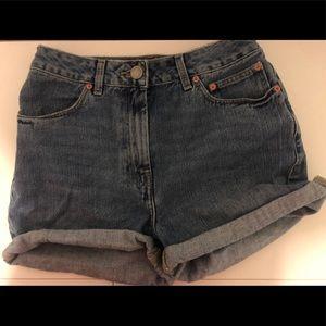 ASOS mom shorts